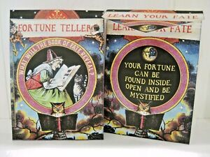 Fortune Teller Tea Bag Envelopes 9 different Fortune Teller Card Inserts (Qty-6)