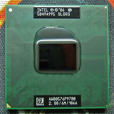 Intel Core 2 Duo P9700 SLGQS 2,80GHz/6Mb/1066MHz FSB Processore CPU Notebook P13