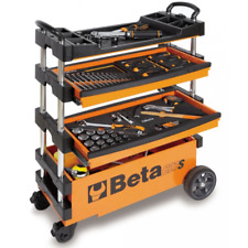 Beta C27S Folding Portable Tool Trolley With Drawers No Tools 027000201