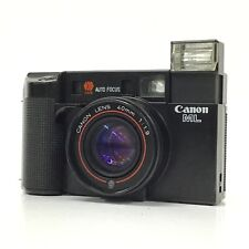 Canon AF35ML Black 40mm F1.9 Point & Shoot 35mm Film Camera AS-IS TK03H