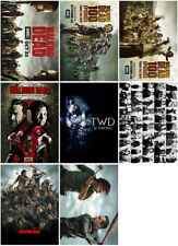 8pc The Walking Dead Season 8 2017 Mirror Surface Postcard Promo Card Poster A