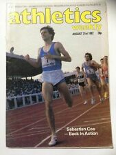 Athletics Weekly Magazine. Issues From 1982. Good Condition **Free UK Postage**
