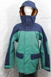 Burton GoreTex Breach Snow Jacket, Men's Medium, Antique Green / Dress Blue New