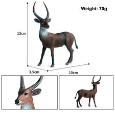 Wild African Antelope Waterbuck Realistic Animal Model Eland Collector Kids Toys