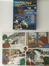 Children's Jigsaw Puzzle ~ Famous Five~ THE HAUNTED HILLS ~ Mystery Puzzle Game