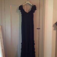 Ralph Lauren Temple Garden Dress in Black size 4