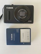 Canon PowerShot S100 12.1MP Digital Camera - Black, GREAT CONDITION!