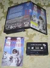 Alpha Blaster Game MSX on tape