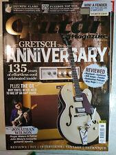 Guitar Magazine December 2017 (NO CD) Gretch Anniversary .