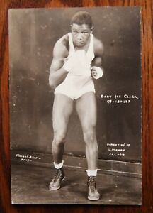 Original Vintage Boxing Promo Photo: Baby Ace Clark 1930's Philly Heavyweight