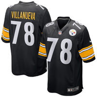 New 2020 NFL Nike Pittsburgh Steelers Alejandro Villanueva Game Edition Jersey