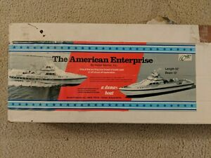 Dumas The American Enterprise RC boat - As Is/ Or project - read description