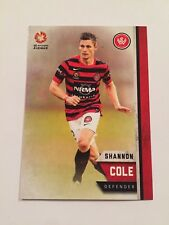 Tap'n'Play 2015 Soccer A-League Card Western Sydney Wanderers 189 Shannon Cole
