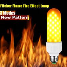E26 E27 E14 B22 LED Burning Light Flicker Flame Lamp Bulb Fire Effect Decorative