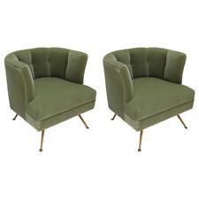 1960s Style Italian Custom Lounge Chairs