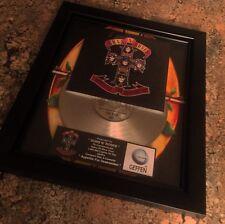 Guns N' Roses Appetite For Destr Platinum Record Disc Album Music Award MTV RIAA