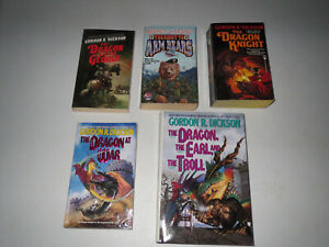 Gordon R. Dickson (4 PB, 1HC LOT) The Dragon And The George / Right To Arm Bears