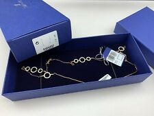 Swarovski Necklace Women's Circle Plating Rose Gold 33 1/2in 5364202 Discount 30