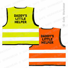 Daddy's Little Helper Hi vis vest for Kids Safety - Perfect Present for Children