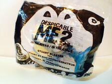 MCDONALDS DESPICABLE ME 2 MINION #8 Stuart Blaster HAPPY MEAL 2013