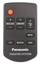*NEW* Genuine Panasonic N2QAYC000064 Sound Bar Remote Control