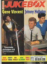 ► JUKEBOX N°197 - JOHNNY HALLYDAY - GENE VINCENT - KIM FOWLEY - SUNLIGHTS