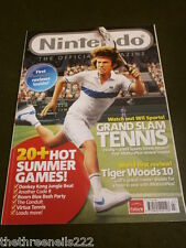 NINTENDO MAGAZINE #44 - Wii GRAND SLAM TENNIS - JULY 2009