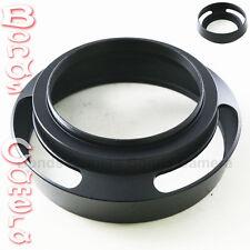58 mm 58mm Metal Vented Lens Hood for Leica Summicron M R Voigtlander black