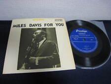 "Miles Davis For You Japan Vinyl EP 7"" John Coltrane Red Garland"