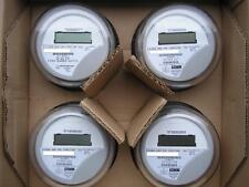 Itron, Watthour Meter (Kwh) C1Sr, Centron, 240V, 200A, 4 Lugs, Form 2S, Lot Of 4