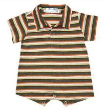 Oshkosh B'gosh Stripes Romper w/ Collar (RWC-09) Infant/Baby Boy Clothes, 9 mos