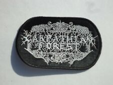 CARPATHIAN FOREST BLACK METAL EMBROIDERED PATCH