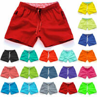 Men Swimming Board Shorts Swim Shorts Trunks Swimwear Beach Summer Trouser WL
