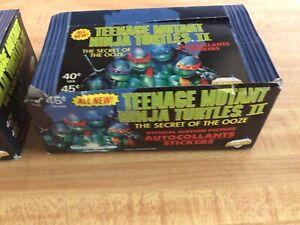 1991 Teenage Mutant Ninga Turtles Two Sticker Box