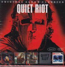 Quiet Riot / Metal Health, OR, OR II, Set List: Live  u.a.  (5 CDs,NEU! OVP)