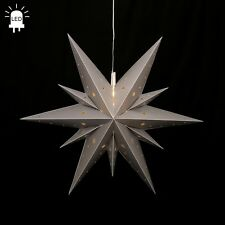 Led Estrellas de Adviento Plegable Ø60 Exteriores Navidad 11 Zack Plata 96210
