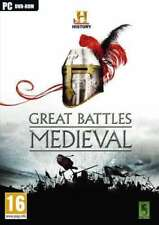 History channel: Great Battles Medieval - PC DVD - Brand new and factory sealed