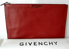 New Authentic Givenchy antigona grained leather large pouch clutch bag REDUCED