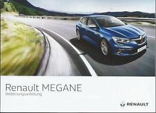 RENAULT MEGANE / MEGANE GRANDTOUR  2017 4 Betriebsanleitung Handbuch BA