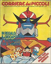 CORRIERE DEI PICCOLI n° 32 del 1981 (La Stefi-DALTANIUS)