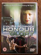 Cynthia Rothrock HONOR AND GLORY ~ 1992 Martial Arts Film ~ Honour Rare UK DVD