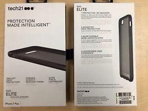 Tech21 EVO ELITE Case for iPhone 7 Plus / 8 Plus in Grey/Black