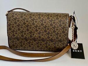 DKNY Bryant MD Flap Shoulder Bag Purse Crossbody Handbag NWT