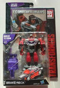 Transformers Combiner Wars BRAKE-NECK Deluxe class w COMIC BOOK NEW Menasor