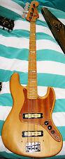 1972 Fender Jazz Bass Vintage Guitar Guitare de Collection pièce Unique spécial fabrication