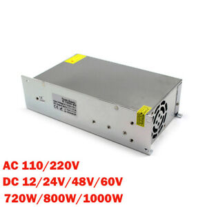 Industrial Transformer Electronic Switching Power Supply 720-1000W AC110/220V
