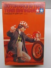 Tamiya Vintage 1:12 Scale Motor Racing 1970's Team Manager Model Kit New & Rare