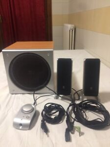 Impianto Audio Per Pc Marca Logitech Con Subwoofer Z3