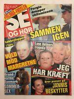 """Sarah Fergie Ferguson Drops Divorce Vtg Danish Magazine 1992 """"Se og Hoer"""""""