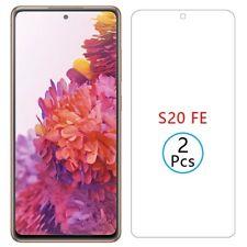2X Samsung Galaxy S20 FE 5G 9H Panzerfolie HD Echt Glas Display Schutz Glas